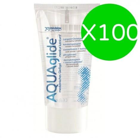 aquaglide lubricant 50 ml x 100 uds