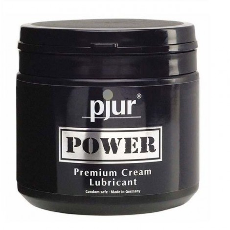 pjur power premium cream personal lubricant 500 ml