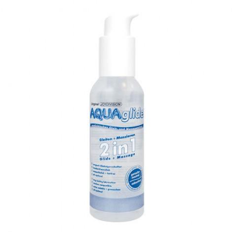 aquaglide 2 en 1 lubricante masaje 125 ml