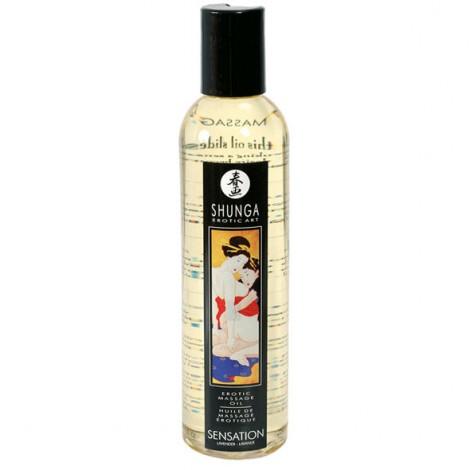 shunga erotic massage oil sensation