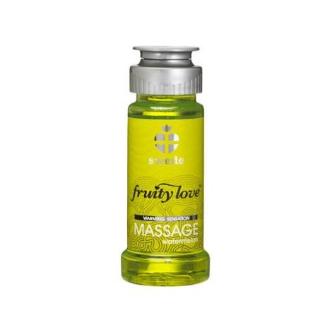 fruity love aceite masaje efector calor 50 ml sandia swede