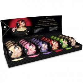mini caress by candlelight velas masaje display 24 uds