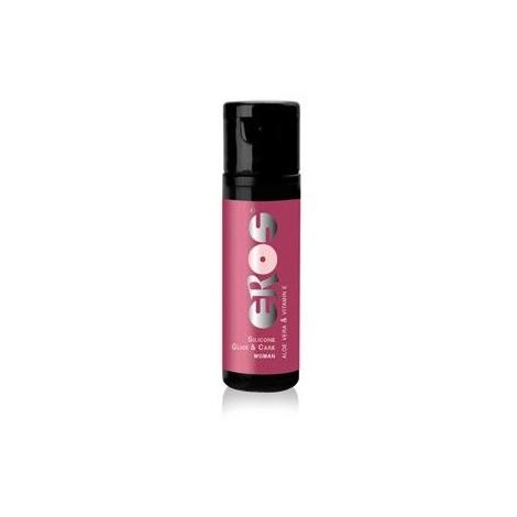 eros lubricante medicinal silicona para mujer 30 ml