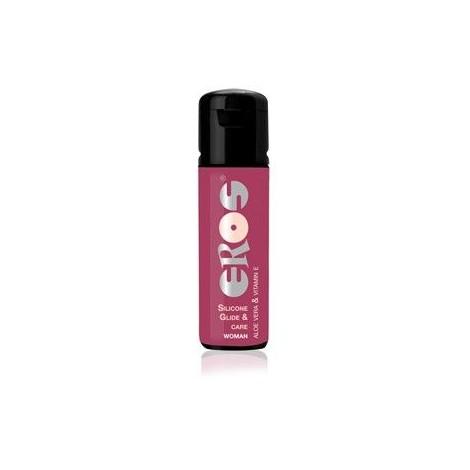 eros lubricante medicinal base silicona para mujer 100 ml para mujer