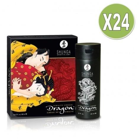 shunga dragon crema potenciadora de la ereccion x 24uds