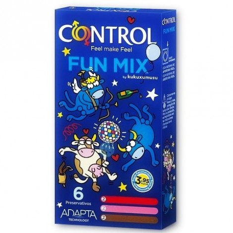 control feel fun mix kukuxumusu 6 uds