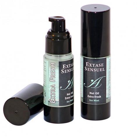 extase sensuel aceite de masaje efecto extra fresh hielo 30ml