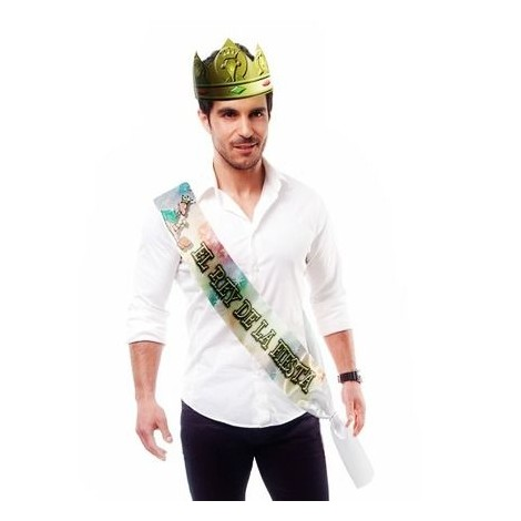 banda el rey de la fiesta corona
