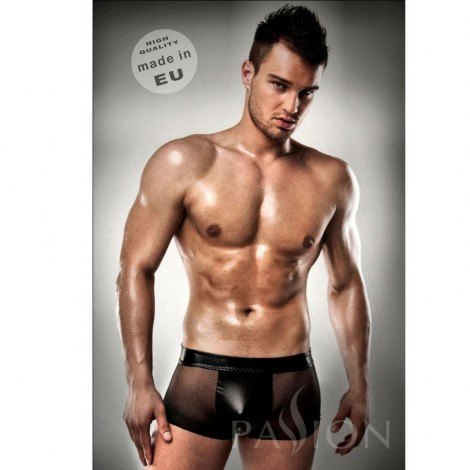 passion 003 men black leather clear