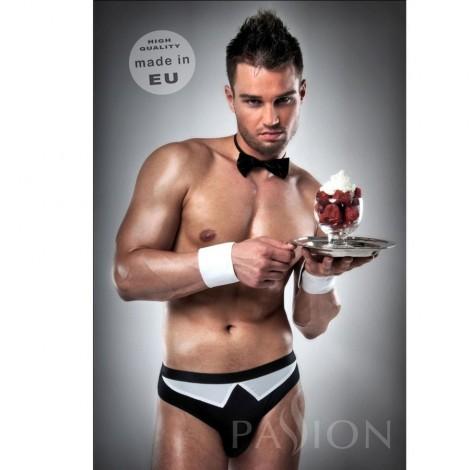 disfraz camarero 020 sexy blanco negro by passion men