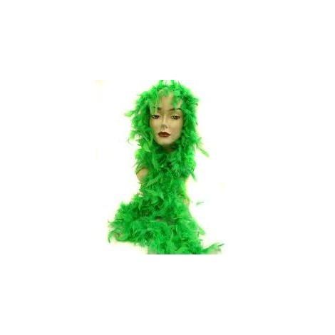 boa plumas verde 183 cm