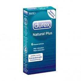 DUREX NATURAL PLUS 6 UNIDADES