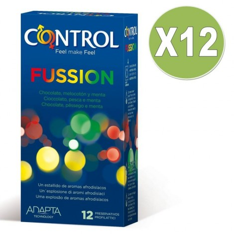 control fussion 12 unid pack 12uds