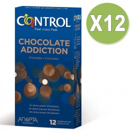 CONTROL CHOCOLATE 12 UNID PACK 12