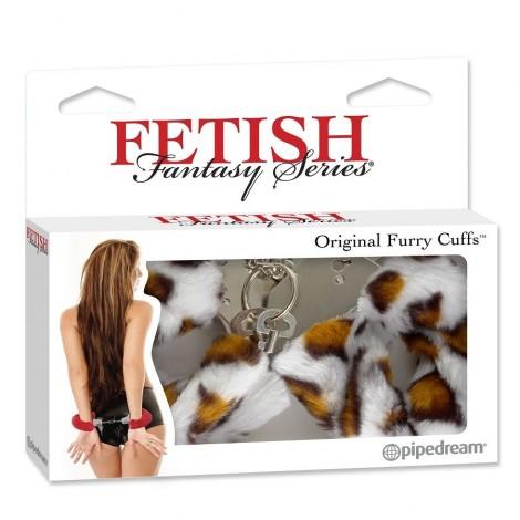 fetish fantasy esposas estampado leopardo