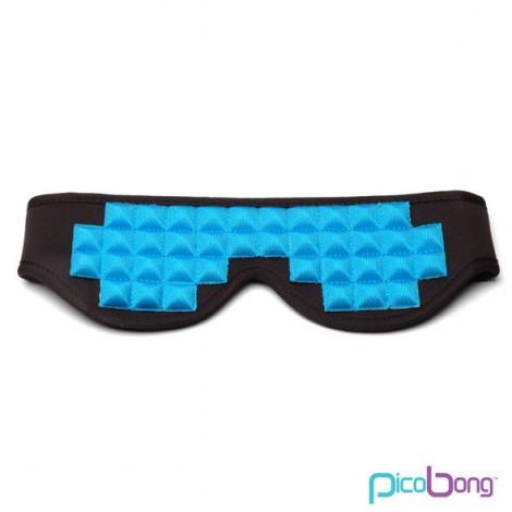 picobong see no evil blindfold mascara neopreno azul