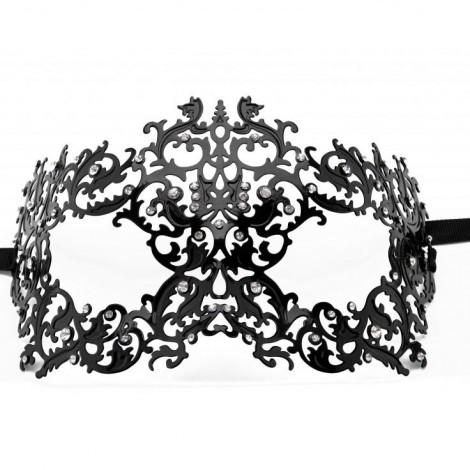 ouch forrest queen masquerade mascara negro