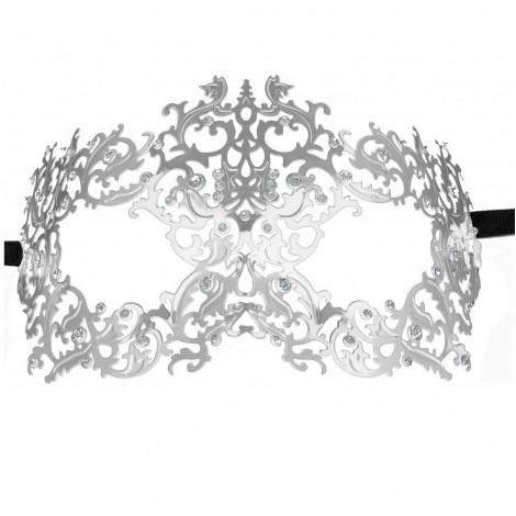 ouch forrest queen masquerade mascara silver