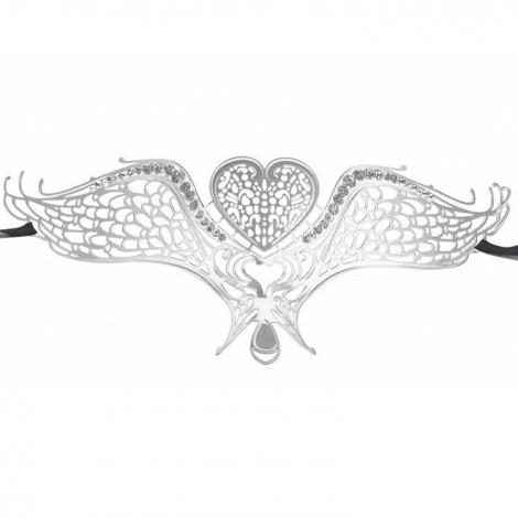 ouch swan masquerade mascara silver