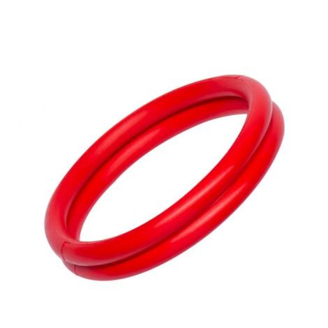 rudy anillo doble rojo