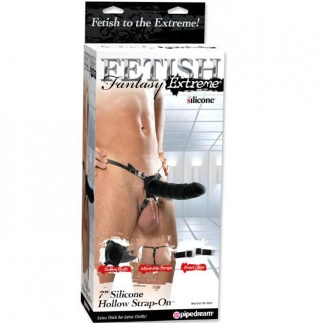 strap on silicona 18 cm pulgadas fetish fantasy extreme