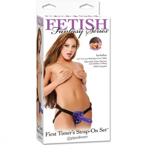 fetish fantasy arnes primera vez lila 13cm