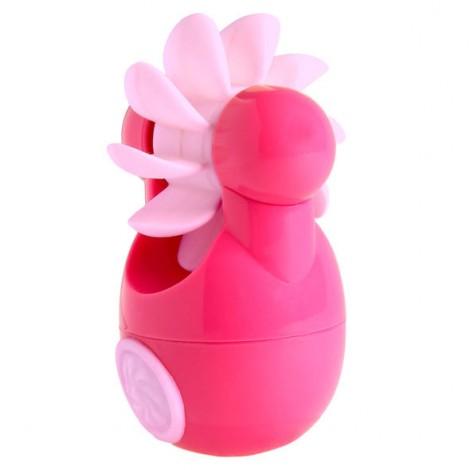 sqweel go estimulador clitorís rosa