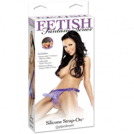 fetish fantasy arnes de silicona lila