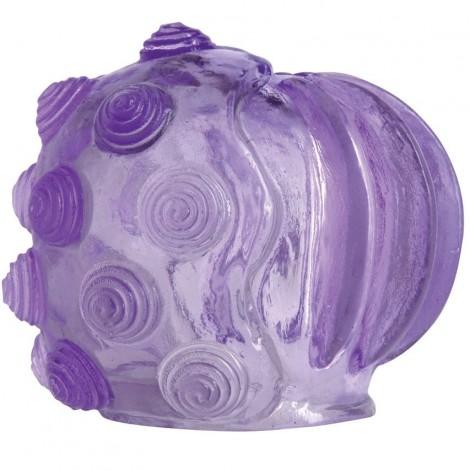 topco cabezal lila swirl para masajeadores magic