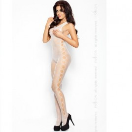 PASSION EROTICLINE CATSUIT BLANCO BS003