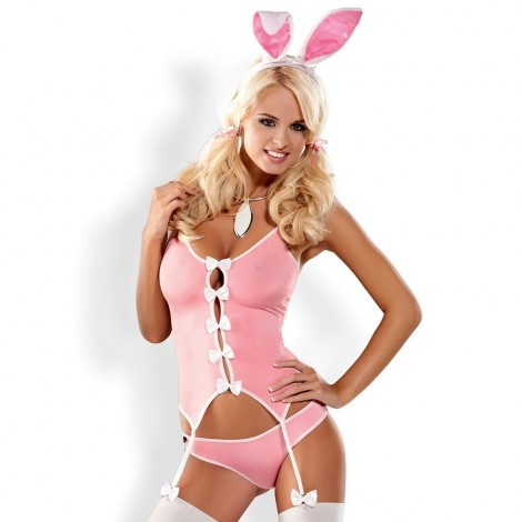 obsessive disfraz conejita bunny suit s m