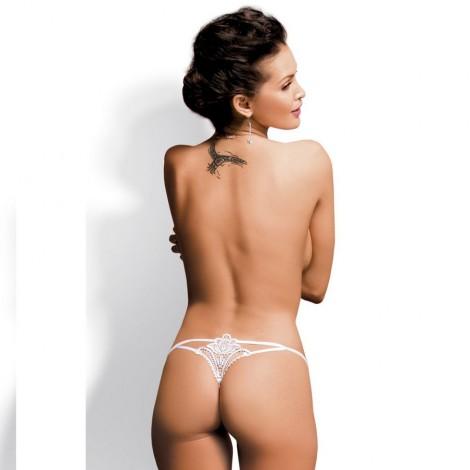 obsessive luiza thong blanco s m