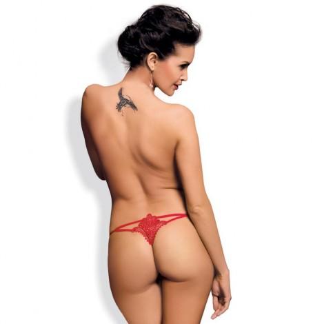 obsessive luiza thong rojo s m